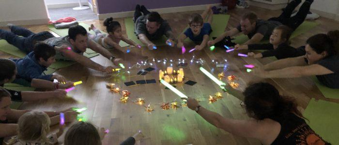 Childrens yoga teacher training East Midlands